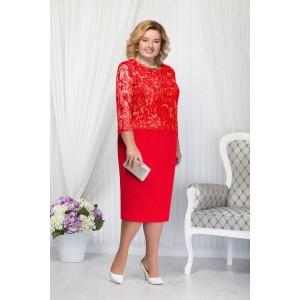 NINELE 5654 Платье (красный)