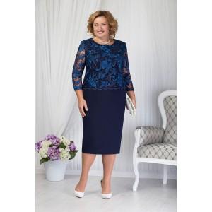 NINELE 5654 Платье (синий)