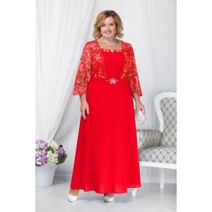 NINELE 5657 Платье (красный)