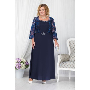NINELE 5657 Платье (синий)