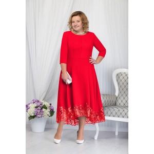 NINELE 5660 Платье (красный)