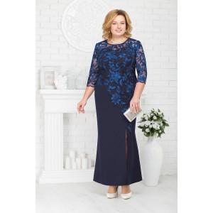 NINELE 5661 Платье (синий)