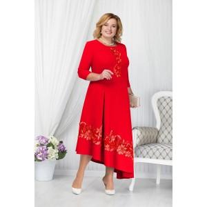 NINELE 5663 Платье (красный)