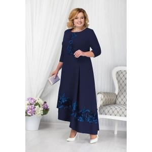 NINELE 5663 Платье (синий)
