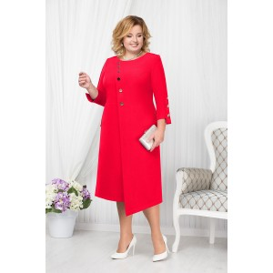 NINELE 5664 Платье (красный)