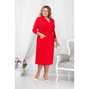 NINELE 5670 Платье (красный)