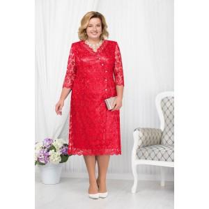 NINELE 5673 Платье (красный)