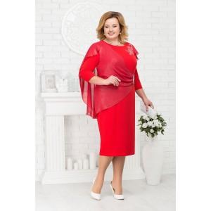 NINELE 5675 Платье (красный)
