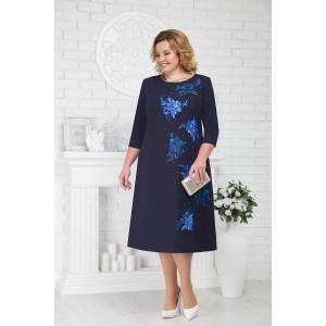 NINELE 5676 Платье (синий)