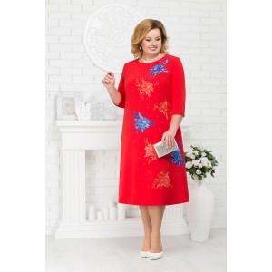 NINELE 5676 Платье (красный)