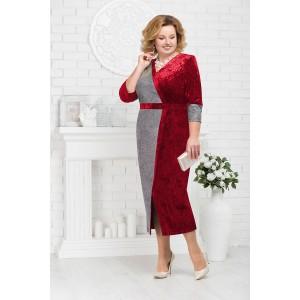 NINELE 5679 Платье (красный)