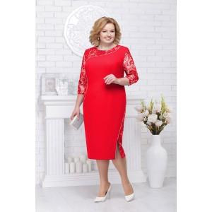 NINELE 5695 Платье (красный)