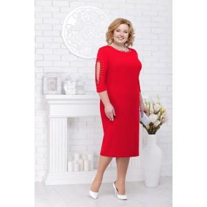 NINELE 5696 Платье (красный)