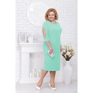 NINELE 5696 Платье (светло-зеленый)