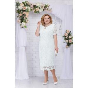 NINELE 5700 Платье (белый)