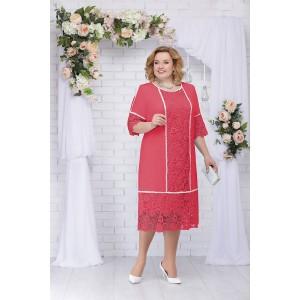 NINELE 5701 Платье (малина)