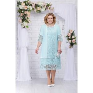 NINELE 5701 Платье (мята)