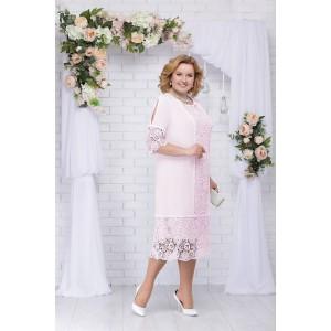 NINELE 5701 Платье (пудра)