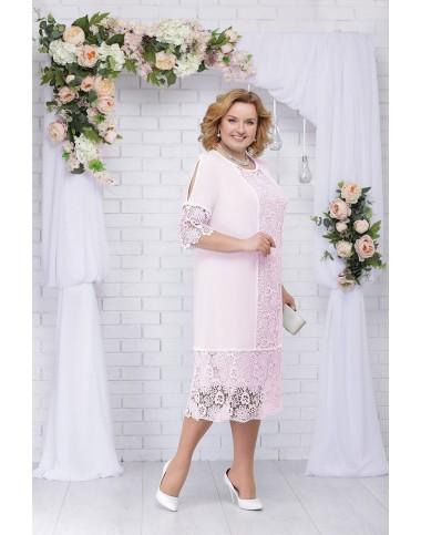 NINELE 5701 BM Платье (пудра)