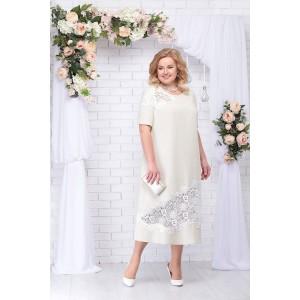NINELE 5707 Платье (бежевый)