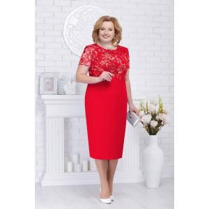 NINELE 5709 Платье (красный)