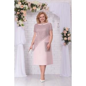 NINELE 5710 Платье (пудра)