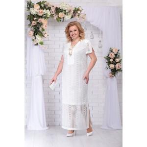 NINELE 5711 Платье (белый)
