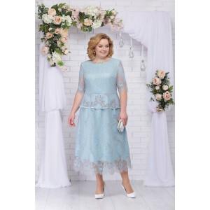 NINELE 5715 Платье (мята)