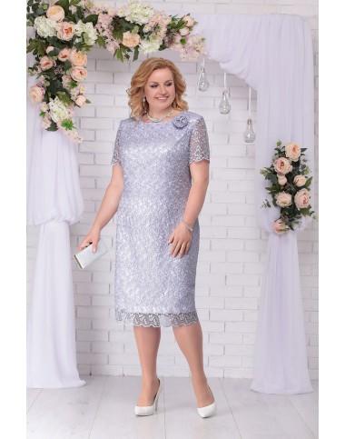 NINELE 5716 Платье (голубой)