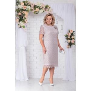 NINELE 5716 Платье (бежевый)