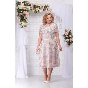 NINELE 5718 Платье (пудра)