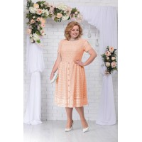 NINELE 5719 Платье (персик)