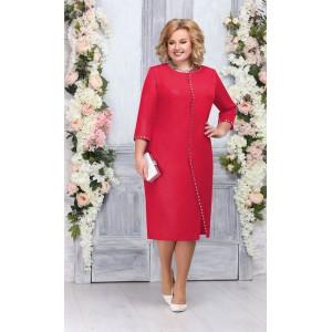NINELE 5742 Платье (красный)