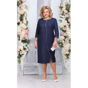 NINELE 5742 Платье (синий)