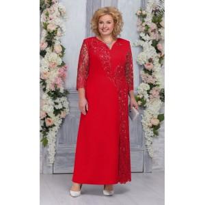 NINELE 5743 Платье (красный)