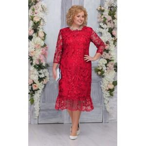 NINELE 5745 Платье (красный)