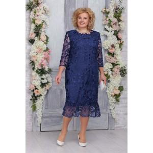 NINELE 5745 Платье (синий)