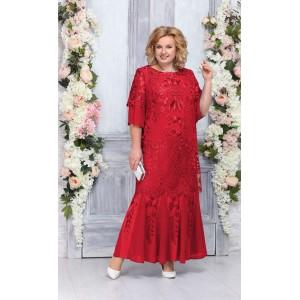 NINELE 5747 Платье (красный)