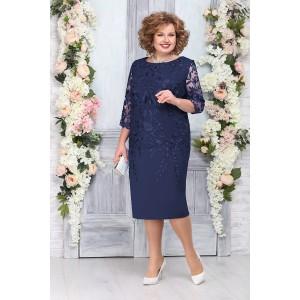 NINELE 5753 Платье (синий)
