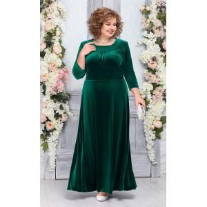 NINELE 5754 Платье (изумруд)