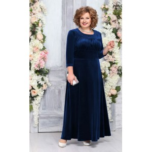 NINELE 5754 Платье (синий)