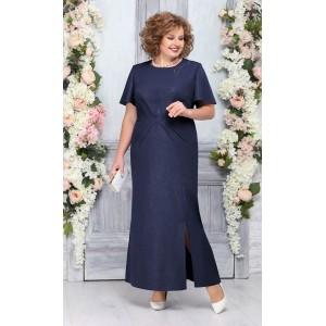NINELE 5756 Платье (синий)