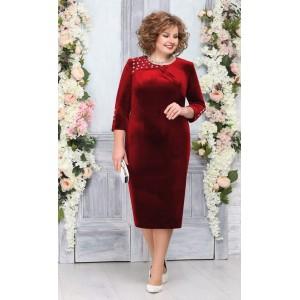 NINELE 5757 Платье (красный)