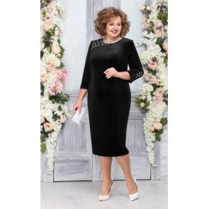 NINELE 5757 Платье (черный)
