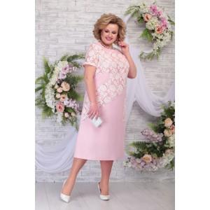 NINELE 5810 Платье (пудра)