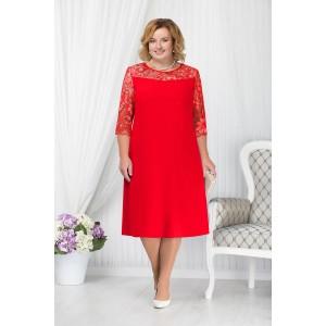 NINELE 7201 Платье (красный)