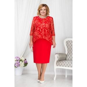 NINELE 7202 Платье (красный)