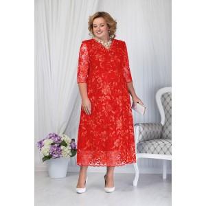 NINELE 7203 Платье (красный)