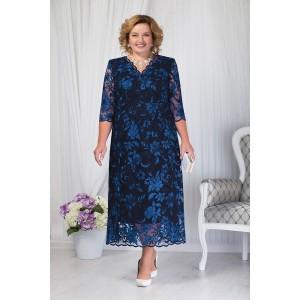 NINELE 7203 Платье (синий)