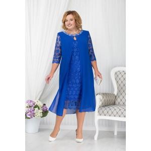 NINELE 7204 Платье (василек)